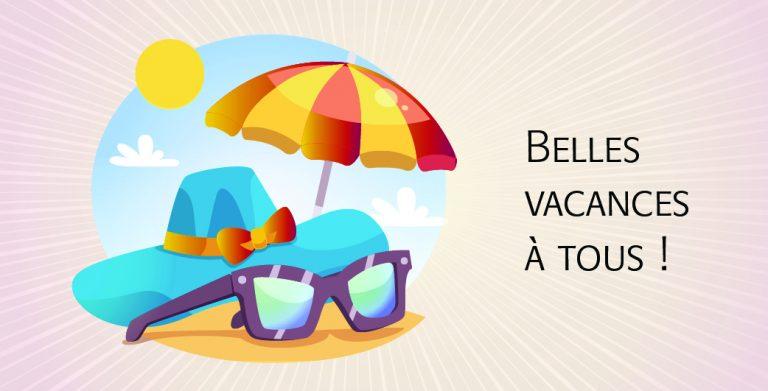 Ocelena vous souhaite de bonnes vacances