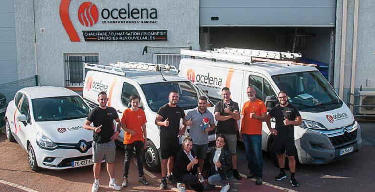 équipe chauffagiste passionnée Ocelena