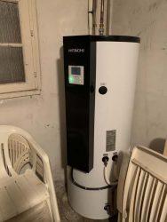 réalisation ocelena - pompe à chaleur pour chauffer l'eau